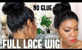 Full Lace Wig Application No glue | Wig Encounters