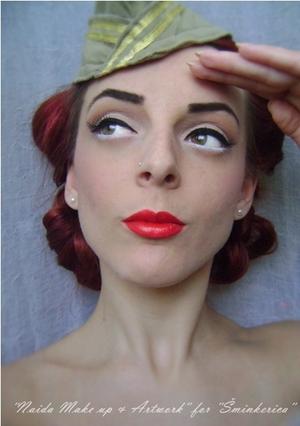 History of make up - 1940's // Tutorial: http://www.sminkerica.com/tutoriali/povijest-sminkanja-1940-e/