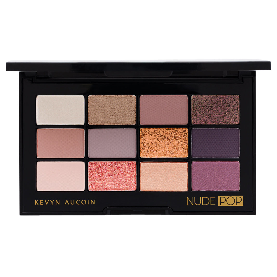 Kevyn Aucoin Nude Pop Pro Eyeshadow Palette product smear.