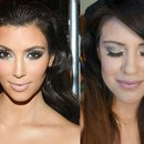 Kim Kardashian Inspired Makeup