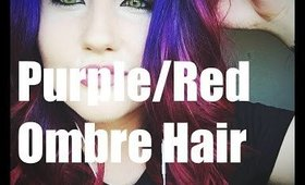 Purple to Red Ombre! (HIDH)