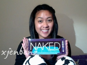 Got my Naked Palette as my late birthday present.
