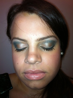 I used limited edition Mega metal shadow in color Odalisque