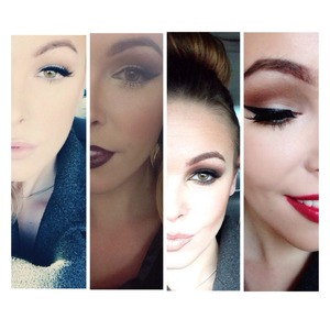 Some my favorite looks for winter!❄️⛄️ details on the all the looks! IG: makeupbychelsie