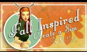 Create a Sim + Build │ Mary-Lou Fawn & Her Cottage │ Fall Inspired