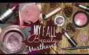My Fall Makeup Musthaves!