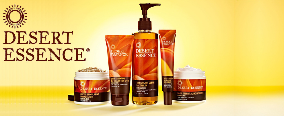 Something is. Desert essence facial moisturizer