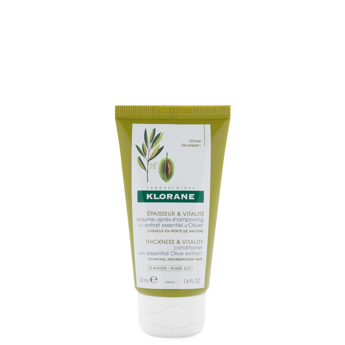 Klorane Conditioner with Essential Olive Extract 1.6 oz alternative view 1 - product swatch.