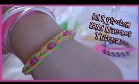 •.¸✿¸.• D.I.Y ❤ Stretch Band Bracelet •.¸✿¸.•