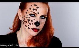Sexy Cheetah Halloween Makeup