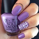 Purple and pearls