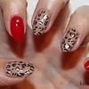 Foil Nail Art - Leopard