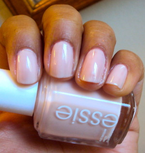 Essie Ballet Slippers Classic, feminine, and clean looking nails are definitely work appropriate and oh so pretty!