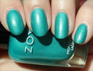 See my review & more swatches of it here: http://www.swatchandlearn.com/zoya-zuza-swatches-review/