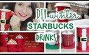 DIY Winter Starbucks Drinks at Home: 3 Easy Ways!