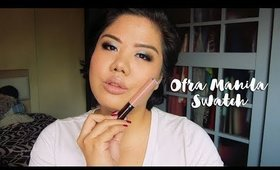 Ofra Manila:  Swatch + First Impression | Oh, it's Andee!
