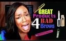"""(22) GREAT (inexpensive) Products 4 """"BAD"""" EYE BROWS"""