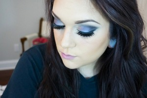 Used UD Vice 2 for this!  Tutorial on my channel! Youtube.com/lowranmarie facebook.com/makeuppbylc