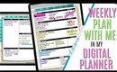 Setting up Weekly Digital Plan With Me July 22, July 22 to July 28 PLAN WITH ME