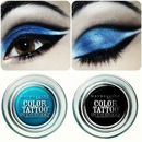 Black and Blue eyeshadows by Maybelline