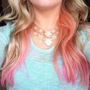 Pink peekaboo