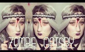 Zombie Gatsby Halloween Makeup