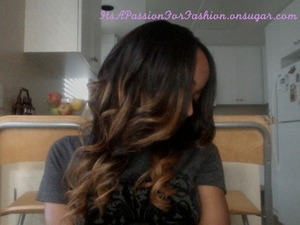 New hair install (Malaysian curly--straightened) watch my YT video for hair specifics: http://www.youtube.com/watch?v=6WO3im_6cKM