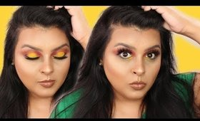 Neon Yellow Makeup