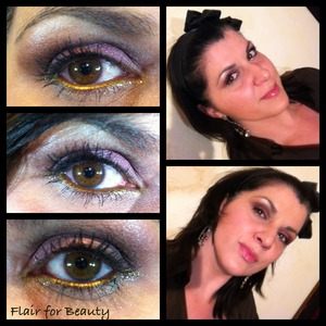 A warm and feminine make up using pink and gold loose pigments. Something precious for the evening.. More make up looks on my facebook page: http://www.facebook.com/pages/Flair-for-Beauty/217232211715190