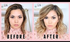 HOW TO STYLE SHORT LOB / HAIR HAIRSTYLE (fast and easy)