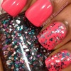 Beauty UK Pink Explosion and Essie Jazzy Jubilant