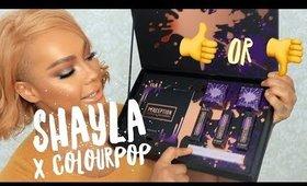 SHAYLA X COLOURPOP REVIEW & TUTORIAL | SONJDRADELUXE