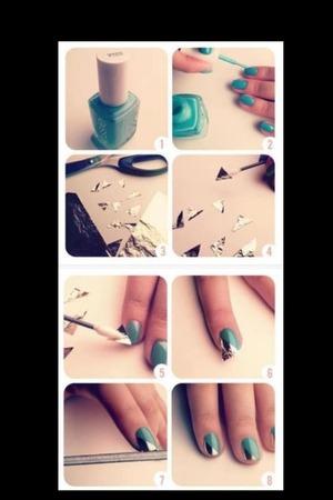 Bella bella bella !  Art nail !