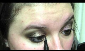 Drugstore Makeup Tutorial featuring Maybelline Color Tattoos