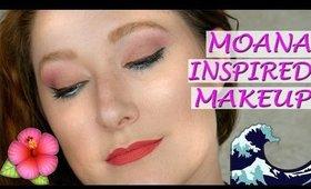 Moana Inspired Makeup