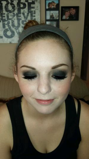 Makeup for homecoming  ?