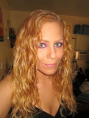 face by Mally cosmetics, eyeshadows by sugarpill