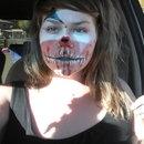 late halloween face