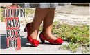 LULU HUN MARA BLOCK HEEL UNBOXING + TRY ON | COLLECTIF