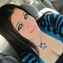 Black and Teal Cat Eye