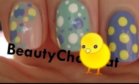 [3IN1] 3 easy nail art designs ♥ Simple and quick Easter themed nail art designs