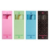 Jeffree Star Cosmetics Metal Straw 4-Pack Bundle