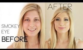Prom Perfect (or wedding) Smokey Eye Make-Up Tutorial