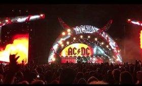 AC⚡️DC Live Concert Rock or Bust Tour February 2015 Etihad Stadium Melbourne