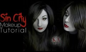 Sin City Grayscale Makeup Tutorial