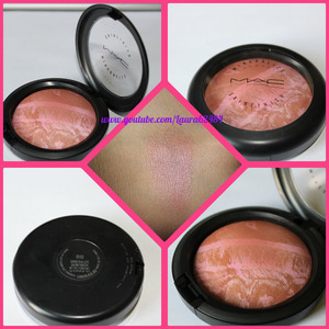 this is a gorgeous rose pink and bronze shimmer. Can be used as a blush, bronzer or highlight