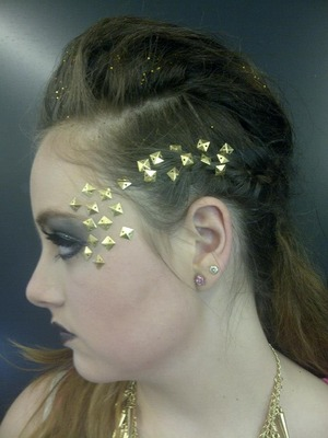 Used in a makeup competition, came 2nd:)!