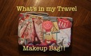 What's in My Travel Makeup Bag! 2012