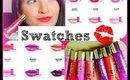 Glazed Lip Paint Swatches!! | Live