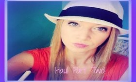 ♡ Haul Part Two * Charlotte Russe ♡